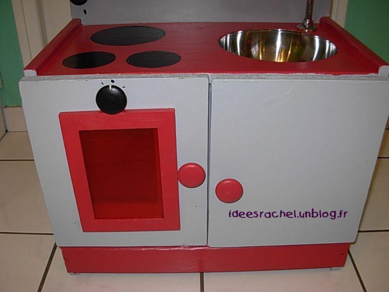 Les id es de rachel fabrication d une cuisine pour enfant - Petite cuisine enfant ...