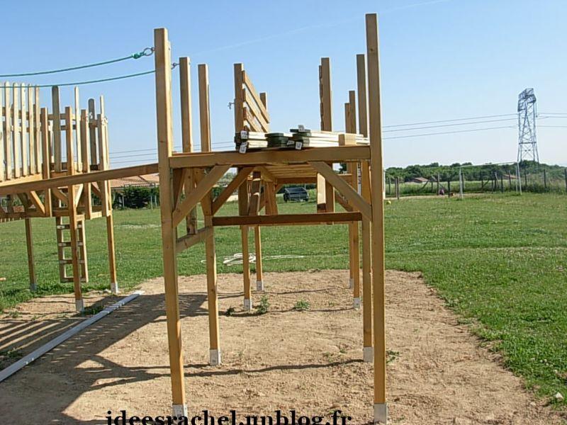 Exceptionnel Les idées de Rachel » construction par mon mari d'un air de jeux  RD43