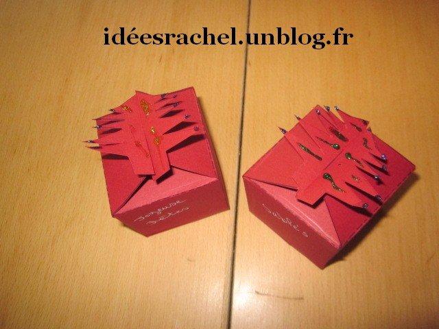 Les id es de rachel boite biscuits forme sapin - Gabarit boite en papier ...