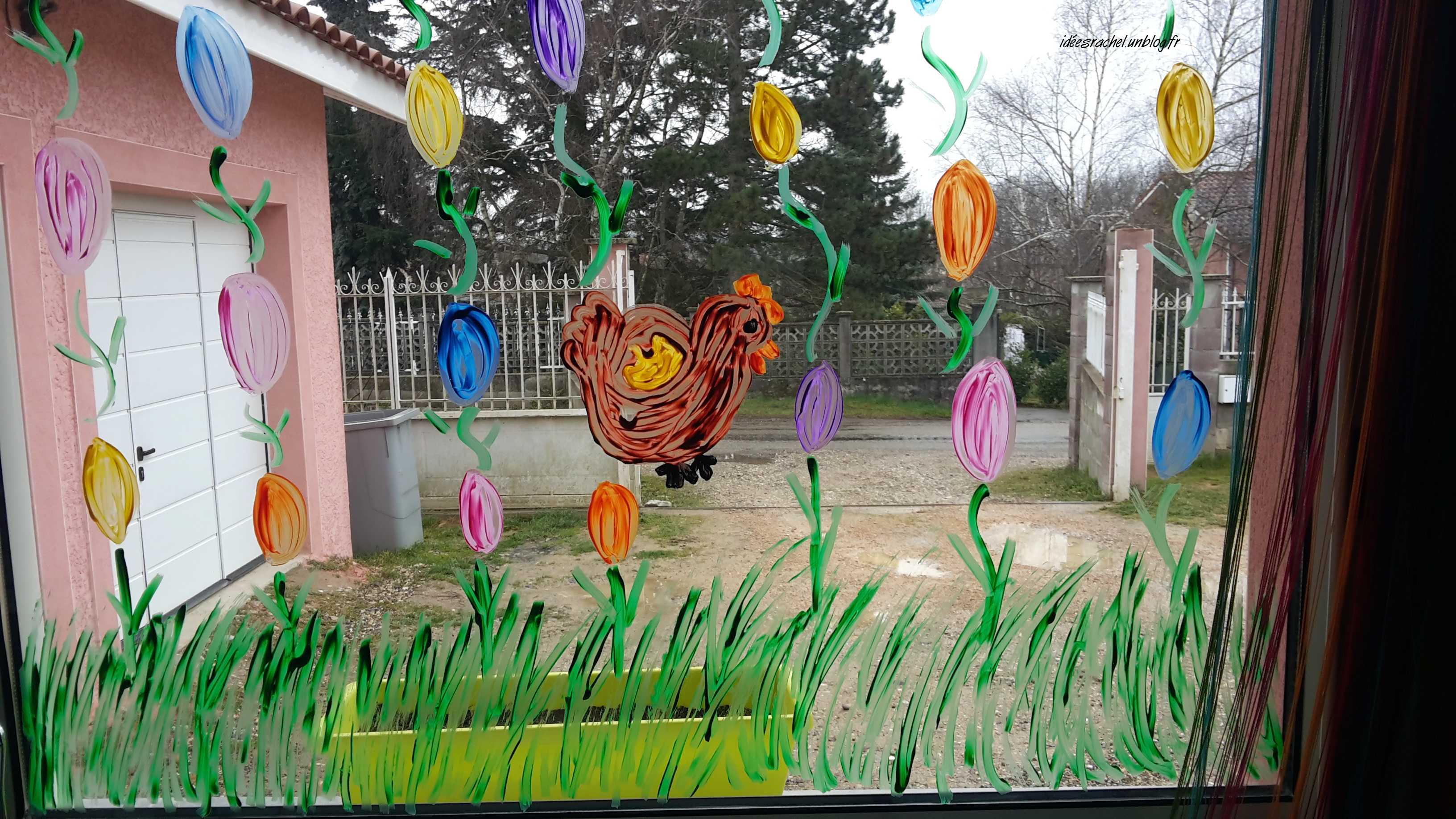 Les id es de rachel 2015 mars 23 for Decoration fenetre classe