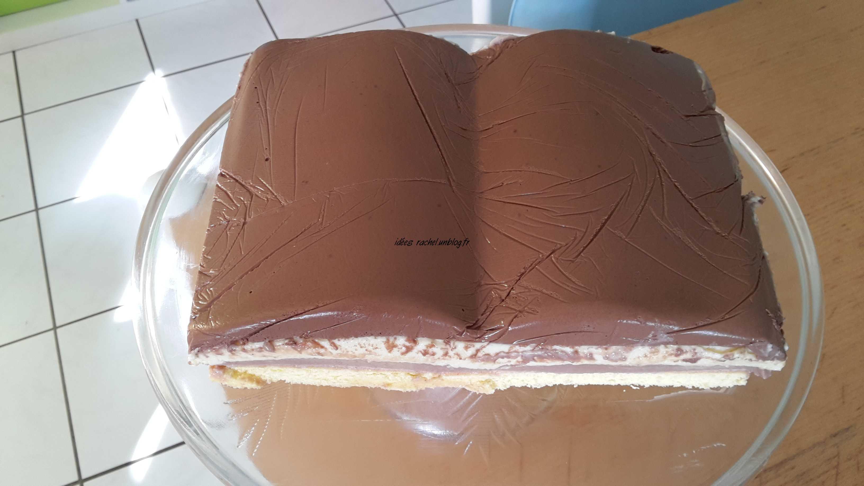 Extrêmement Les idées de Rachel » gâteau au trois chocolats DV32